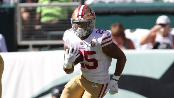 """Elijah Mitchell """"very questionable"""" for 49ers on Sunday night"""